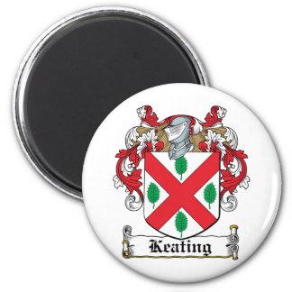 Keating Family Crest Magnet