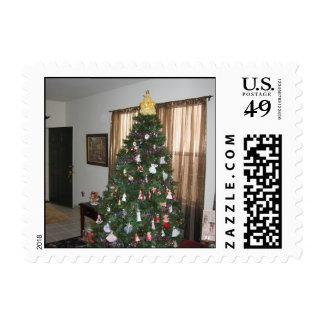 Keaton Christmas Tree Postage