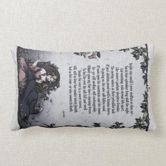 "Keats ""Bright Star"" Victorian Art Pillow"