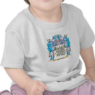 Keats Coat of Arms - Family Crest Tshirt