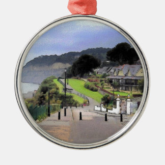 Keats Green, Shanklin, Isle of Wight, England Metal Ornament