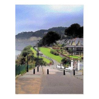 Keats Green, Shanklin, Isle of Wight, England Postcard