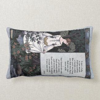 "Keats ""La Belle Dame"" Victorian Art Pillow"