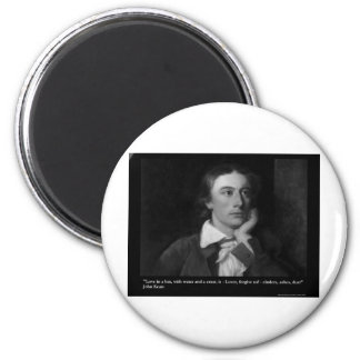 Keats Love Is My Religion Quote Gifts Tees Etc Magnets