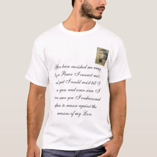 keats, You have ravished me away by a Power I c... T-Shirt