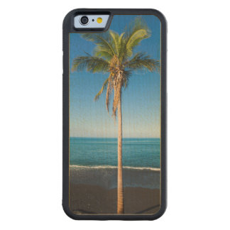 Keawaiki black sand beach 2 carved maple iPhone 6 bumper case