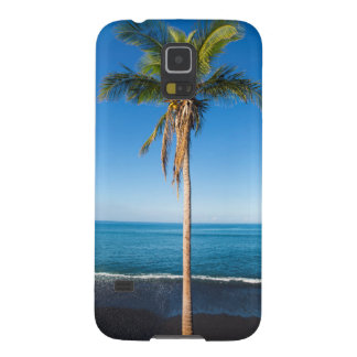 Keawaiki black sand beach 2 galaxy s5 cover