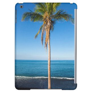 Keawaiki black sand beach 2 iPad air cases