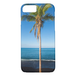 Keawaiki black sand beach 2 iPhone 7 case