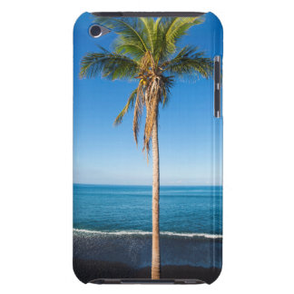 Keawaiki black sand beach 2 iPod touch case