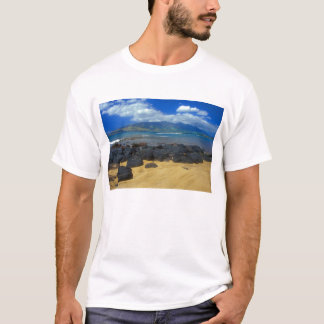 Keawakapu Beach Lava West Maui Mountains T-Shirt