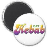 Kebab, come iman de frigorífico