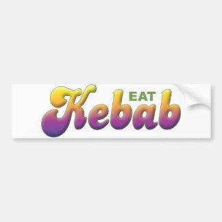 Kebab, come pegatina para auto
