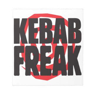 Kebab Freak Memo Pad