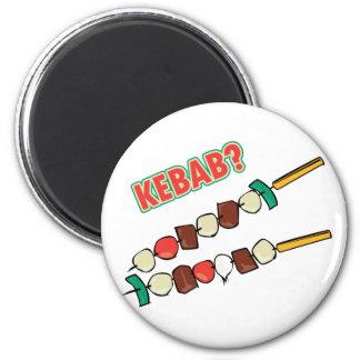¿Kebab? Imán Redondo 5 Cm