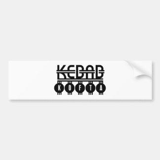 Kebab Kofta Car Bumper Sticker