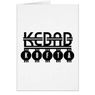 Kebab Kofta Card