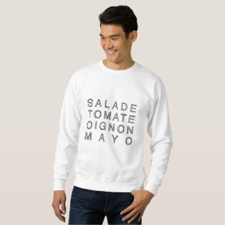 KEBAB MAYO in black (men's sweater) Sweatshirt