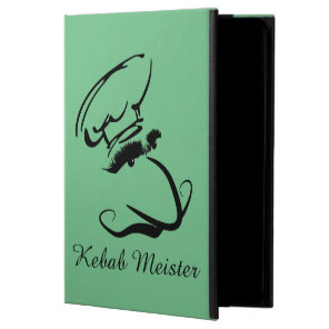 Kebab Meister on green background Powis iPad Air 2 Case