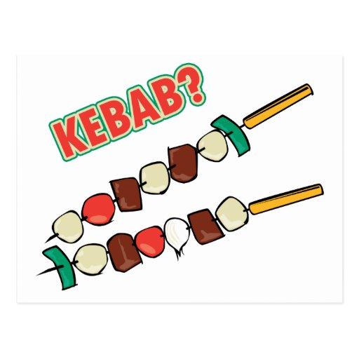 Kebab? Postcards