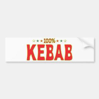 Kebab Star Tag Bumper Sticker
