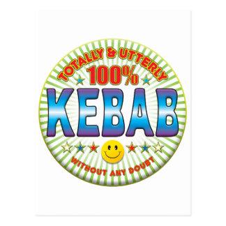 Kebab totalmente postal