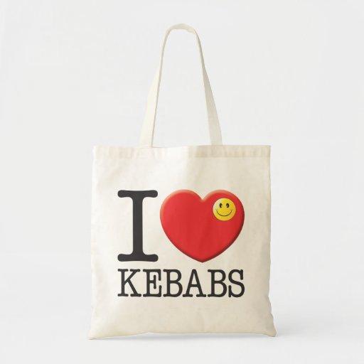 Kebabs Budget Tote Bag