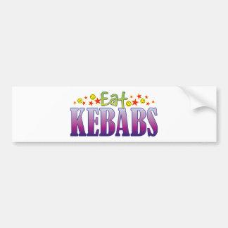 Kebabs Eat Bumper Sticker