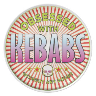Kebabs Obsessed R Party Plates