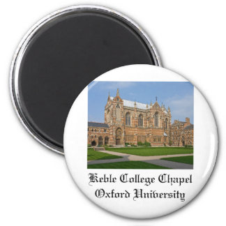 Keble College Chapel Oxford University 2 Inch Round Magnet