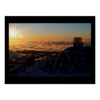 Keck Observatory Print
