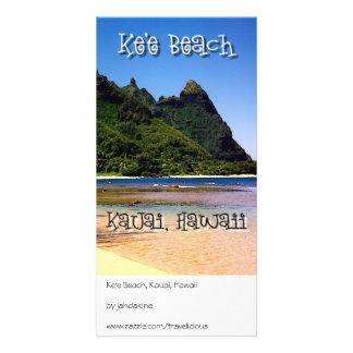 Ke'e Beach, Kauai, Hawaii Photo Card