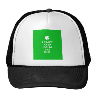 Kee Calm Im Irish Trucker Hat