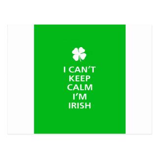 Kee Calm Im Irish Postcard