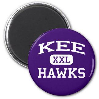 Kee - Hawks - Kee High School - Lansing Iowa 2 Inch Round Magnet