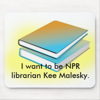Kee Malesky mouse pad