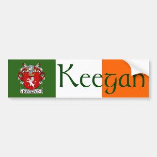 Keegan Coat of Arms Bumper Sticker