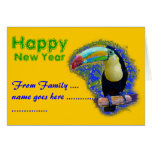 Keel Billed  / Toucan popart Greeting Card