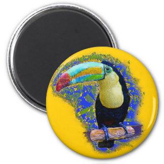 Keel Billed  / Toucan popart Magnet