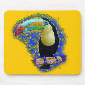 Keel Billed  / Toucan popart Mouse Pad