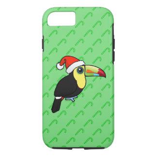 Keel-billed Toucan Santa iPhone 8/7 Case