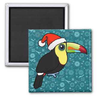Keel-billed Toucan Santa Magnet