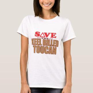 Keel Billed Toucan Save T-Shirt