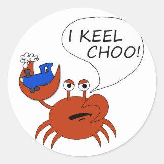 Keel Choo Classic Round Sticker