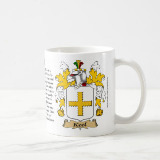 Keel, the Origin, the Meaning and the Crest Coffee Mug
