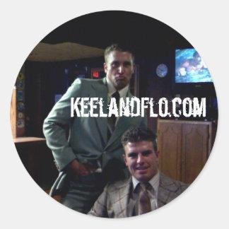 KeelandFlo.com Sticker