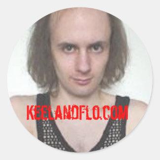 Keelbestcase - keelandflo.com stickers