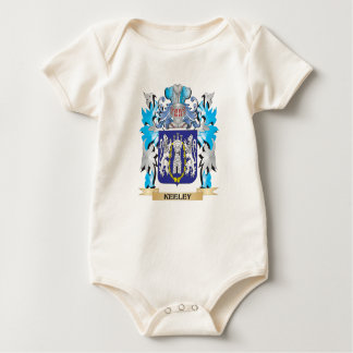 Keeley Coat of Arms - Family Crest Romper