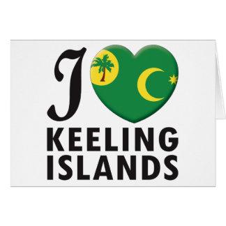 Keeling Islands Love Cards
