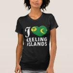 Keeling Islands Love W Tshirt